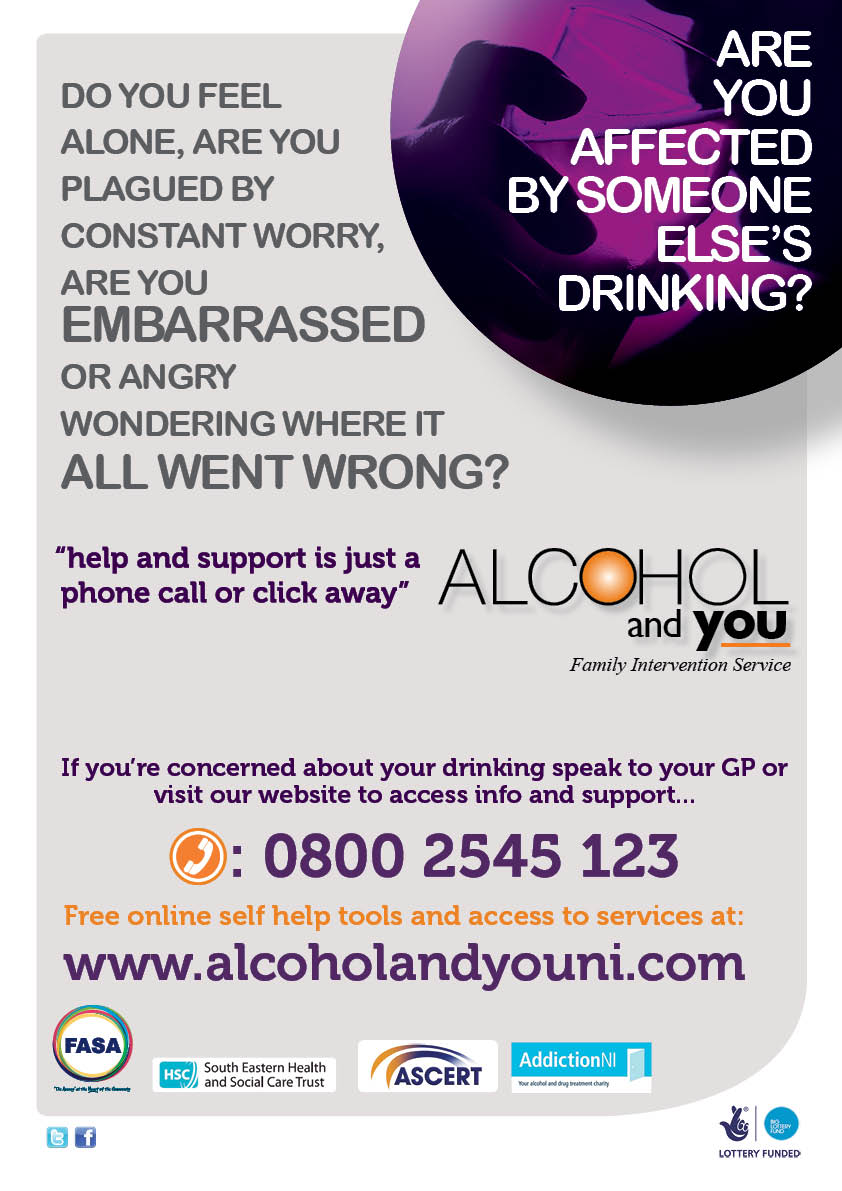 alcohol and you poster are you affected